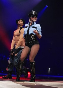 Britney Spears latest pics from The Circus Tour 2009 on the 5th of March in Atlanta 2