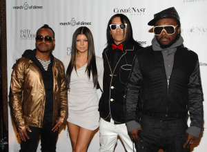 Fergie, Taboo, and Will.i.am of The Black Eyed Peas