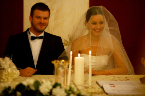 Kivanc Tatlitug and Sedef Avci wedding day pictures from the turkish series Menekse ile Halil - Mirna wa Khalil