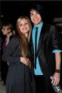 Adam Lambert photo with Megan Corkrey