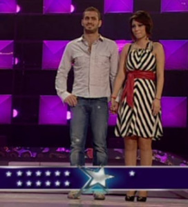 Nazem and Inass stand for their friends votes at Star Academy Fifth Prime