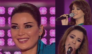 Cyrine Abdelnour with Khawla and Diala singing Laila menl Lialy