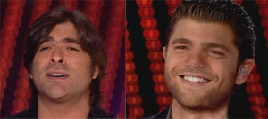 Wael Kfouri and Michel Azzi together at Star Academy Fifth Prime