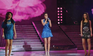 Cyrine Abdelnour with Diala and Khawla Star Academy Fifth Prime pictures and photogallery