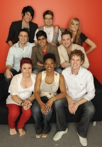 Top 9 contestants of American Idol wallpaper photo