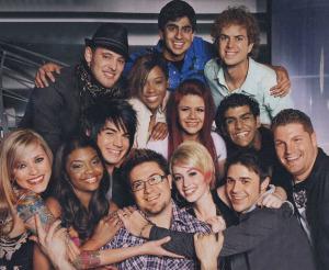 top 13 contestants of american idol season 8