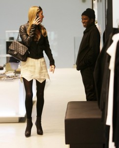 Nicky Hilton spotted shopping in Soho New York City on February 16th 2009