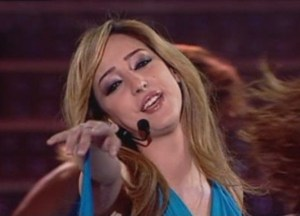 seventh prime of lbc star academy 2009 season 6 on April 3rd 2009 basma bousiel
