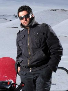 new pictures of the students in star academy season 6 skiing photo shoots on March 2009 Michel Rmeih