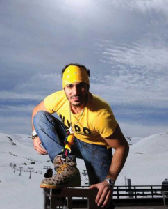 new pictures of the students in star academy season 6 skiing photo shoots on March 2009 Naser