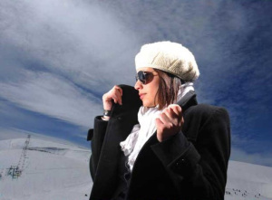 new pictures of the students in star academy season 6 skiing photo shoots on March 2009 Iness