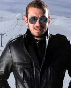 new pictures of the students in star academy season 6 skiing photo shoots on March 2009 Nazem