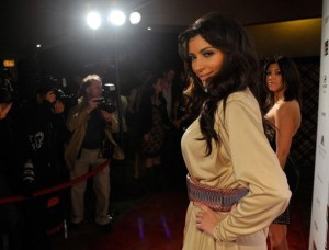Kim Kardashian attends the Night at Haven event hosted by Stardust Pictures and Jamie Kennedy on February 19th 2009 3
