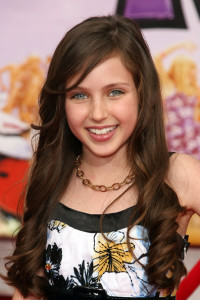 Ryan Newman arrives at the Walt Disney Picture's premiere of Hannah Montana: The Movie