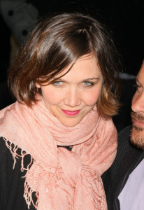 Maggie Gyllenhaal attends The Cinema Society screening of The Mysteries of Pittsburgh movie at the Landmark Sunshine Cinema on April 7th 2009 in New York City