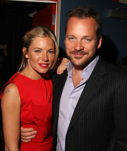 Sienna Miller and Peter Sarsgaard attend The Cinema Society screening of The Mysteries of Pittsburgh movie at the Landmark Sunshine Cinema on April 7th 2009 in New York City