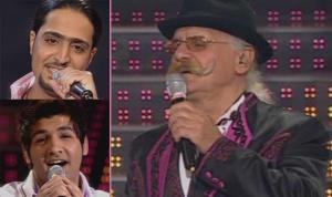 Tony Hana with Abdul Aziz and Ibrahim at the 8th prime of star academy season 6
