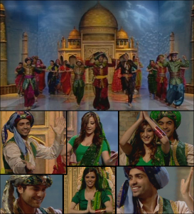 Indian Tableau at the 8th prime of star academy season 6