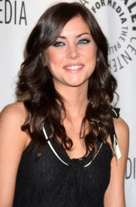 Jessica Stroup attends the 26th Annual William S Paley Television Festival on April 11th 2009 1