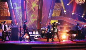 Demi Lovato performing at Dancing With The Stars on April 7th 2009 3