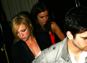 Brittany Snow spotted leaving Beso Restuarant on March 28th 2009 4