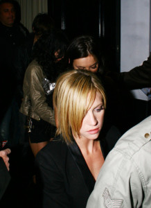 Brittany Snow spotted leaving Beso Restuarant on March 28th 2009 3