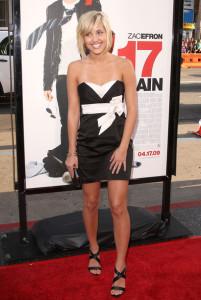 Kherington Payne arrives at the movie premiere of 17 Again on April 14, 2009