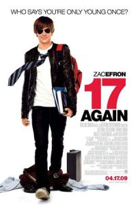 17 again 2009 movie starring Zac Efron