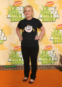 Amy Poehler arrives at Nickelodeon's 2009 Kids Choice Awards