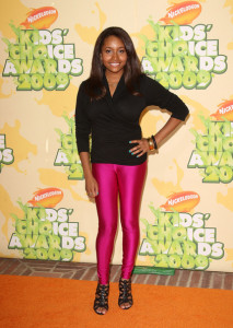 Andrea Lewis arrives at Nickelodeon's 2009 Kids Choice Awards