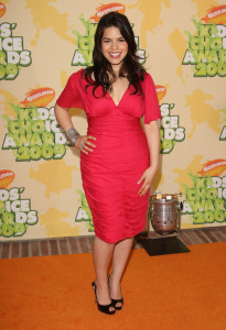 America Ferrera arrives at Nickelodeon's 2009 Kids Choice Awards