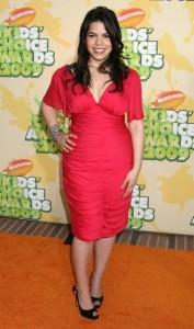 America Ferrera arrives at Nickelodeon's 2009 Kids Choice Awards