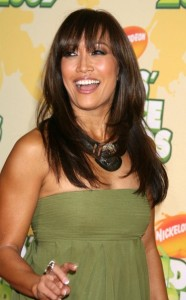 Carrie Ann Inaba arrives at Nickelodeon's 2009 Kids Choice Awards