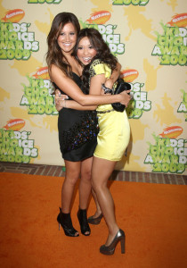 Ashley Tisdale and Brenda Song at Nickelodeon's 2009 Kids Choice Awards