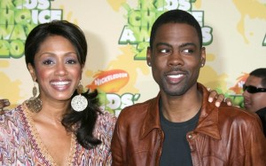 Chris Rock and Malaak Compton arrive at Nickelodeon's 2009 Kids Choice Awards
