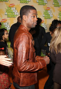 Chris Rock arrives at Nickelodeon's 2009 Kids Choice Awards