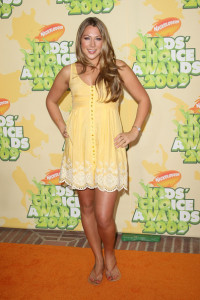 Colbie Caillat arrives at Nickelodeon's 2009 Kids Choice Awards
