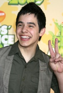 David Archuleta arrives at Nickelodeon's 2009 Kids Choice Awards