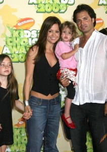 David Charvet and Brooke Burke and kids at Nickelodeon's 2009 Kids Choice Awards