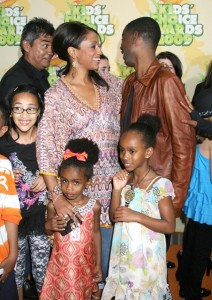 Chris Rock with Malaak Compton at Nickelodeon's 2009 Kids Choice Awards