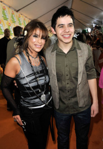 Paula Abdul and David Archuleta at Nickelodeon's 2009 Kids Choice Awards