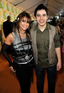 Paula Abdul with David Archuleta at Nickelodeon's 2009 Kids Choice Awards