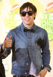 Pete Wentz from Fall Out Boy arrives at Nickelodeon's 2009 Kids Choice Awards