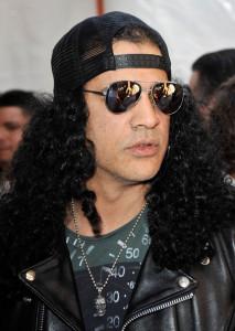Slash arrives at Nickelodeon's 2009 Kids Choice Awards