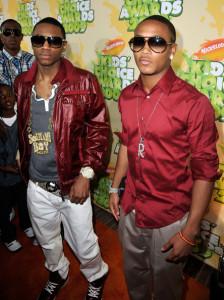 Soulja Boy and Romeo at Nickelodeon's 2009 Kids Choice Awards