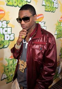Soulja Boy arrives at Nickelodeon's 2009 Kids Choice Awards