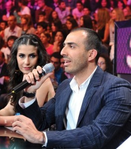 Wadi Abi Raed and Alissar Caracalla on the LBC Star Academy Ninth Prime