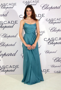 Alessia Piovan arrives at the Chopard Perfume LaunchCascade Perfume Party at the Eden Rock during the 62nd International Cannes Film Festival on May 13  2009 in Cannes  France 1