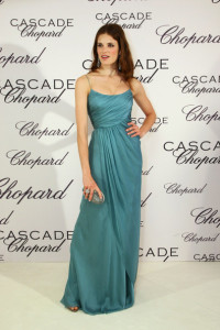 Alessia Piovan arrives at the Chopard Perfume LaunchCascade Perfume Party at the Eden Rock during the 62nd International Cannes Film Festival on May 13  2009 in Cannes  France 4