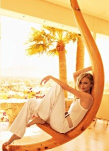 Cameron Diaz cover girl photo shoots of VOGUE Magazine June 2009 issue 6